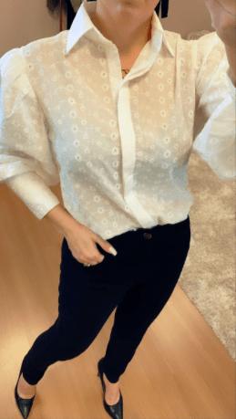 Camisa Laise Princess