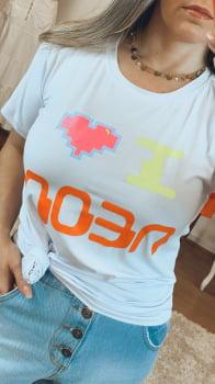 T shirt basica neon